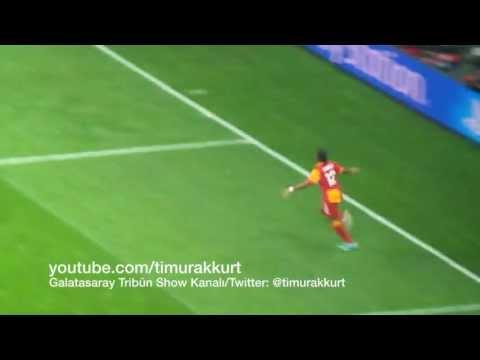 Galatasaray Real Madrid Drogba nın muhteşem topuk golü efsane yaptı yapacağını