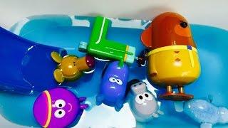 HEY DUGGEE Toys Color Bath Pool!