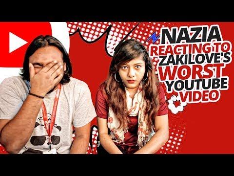 Xxx Mp4 Nazia Nusran Reacting To ZakiLOVE S Worst Youtube Video Bangladesh Reacts 2018 3gp Sex