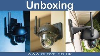 Motorola Focus 73 Outdoor Wireless Camera Unboxing