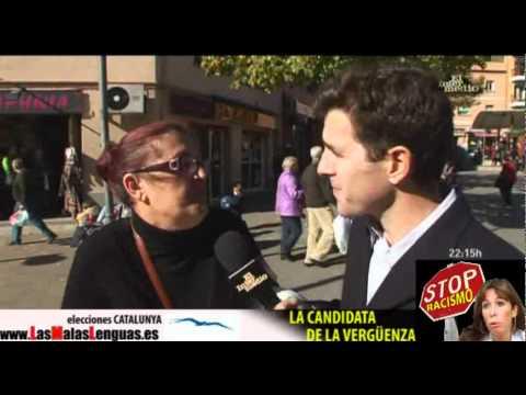 Una racista explica porqué vota al PP en Cataluña