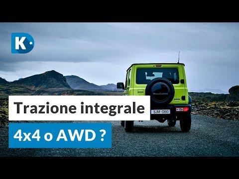 Trazione integrale 4X4 o AWD Cosa cambia