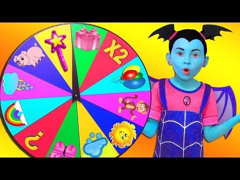 Xxx Mp4 Junior Vampirina And Alice Playing With Magic Wheel 3gp Sex