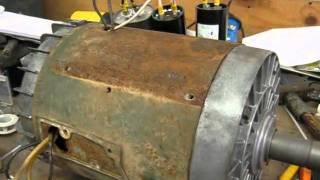 5HP Single-Phase Dayton Farm Duty Electric Motor
