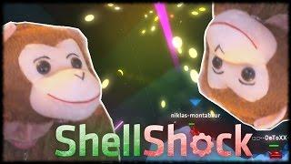 SEIN BESTER BANANENSCHUSS! - Shellshock live - Lets play together - deutsch - german - gameplay