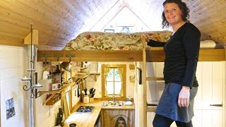 Brittany Yunker's GORGEOUS Tiny House in Olympia, WA-  Full Tour