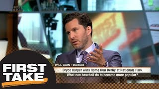Will Cain: Baseball needs more drama and better storylines | First Take | ESPN