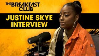 Justine Skye Opens Up About Her Domestic Violence Experience, Relationship w/ Kylie Jenner + More