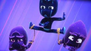 PJ Masks Episodes - Sticky Splat Special - Cartoons for Children