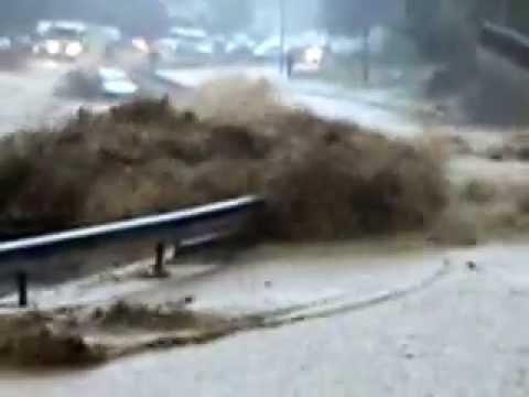 inondations les sours Algerie 2013
