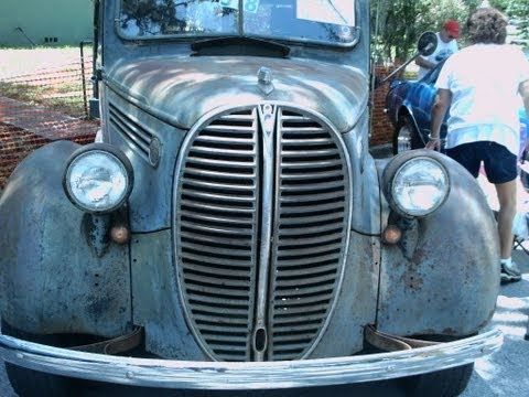 1938 Ford Flatbed Truck Gray Grov070412