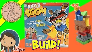 How To Play Build Or Boom Kids Building Block Game Review