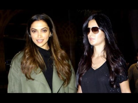 Xxx Mp4 XXx Deepika Padukone And HOT Katrina Kaif Spotted At Mumbai Airport 3gp Sex
