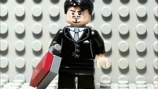 (*Old*) LEGO Iron Man Suit Up Animation Test 1