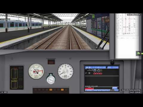 BVE リニューアルされました大糸線・篠ノ井線 特急しなの383系 松本~塩尻間