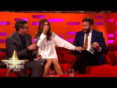 Steve Carell Chris O Dowd & Kristen Wiig Battle a Rogue Fly The Graham Norton Show