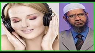 Dr Zakir Naik Urdu bayan in Hindi 2017(Is Forbidden to Listen to music in Islam)Peace TV -HD