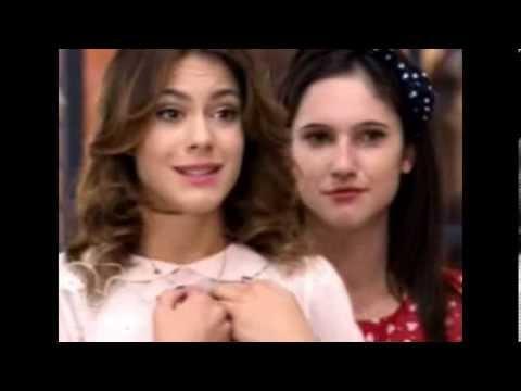 Violetta 2 Vilu ve a Lara y Leon qui se besan