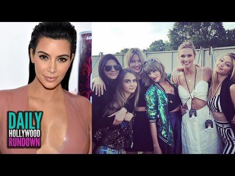 Kim Kardashians NAKED Instagram Pic - Taylor Swift, Kendall Jenner & Gigi Party With Joe Jonas (DHR)