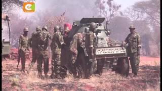 Al-shabaab in dawn raid of KDF Kulbiyow camp