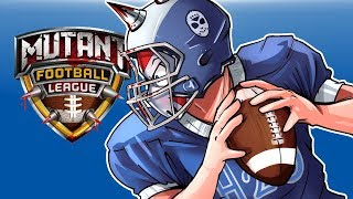Mutant Football League - GET TACKLED!!!! Vs Cartoonz!