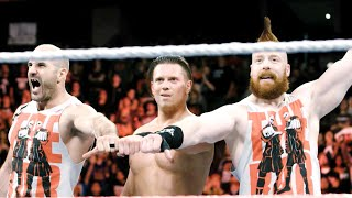 Alternate angles of The Miz, Cesaro & Sheamus' attack on Roman Reigns: Exclusive, Oct. 4, 2017