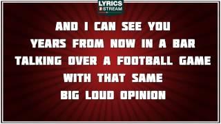 Mean - Taylor Swift tribute - Lyrics