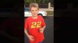 kid has the loudest scream you will ever hear...