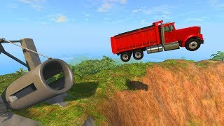 CAR CANON! - BeamNG Drive (Large Canon Crashes)