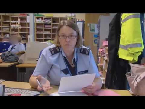 UK Border Force Funniest interview ever with transgender Canadian woman