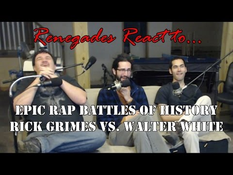 Renegades React to... Epic Rap Battles of History Rick Grimes vs. Walter White