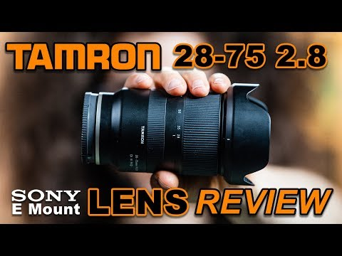 TAMRON 28 75 2.8 Review for Sony E Mount Better Than Sony s Native Lenses