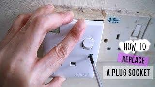 REPLACE A PLUG SOCKET| Cara Menukar Soket Plug