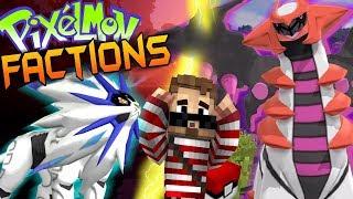 Minecraft Pixelmon Factions #1 - CUSTOM STARTER & FACTION! (Minecraft Pokemon Mod)