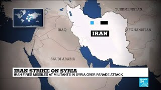 "Iran strike on Syria: A move by Iran ""to send a message to rivals in Syria""?"