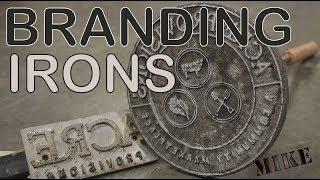 Cast Aluminum Branding Irons - Mikes Inventions
