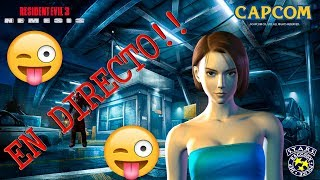 ¡Tarde de Resident evil 3! NEMESIS EN DIRECTO