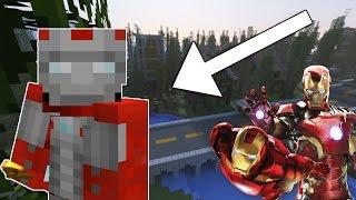 DEMİR ADAM CHALLENGE! Minecraft'ta Iron-Man Oldum!
