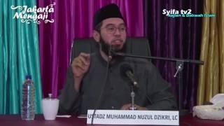 Kisah Ulama Ulama Yang Memanfaatkan Waktu di Sisah Umurnya  Ustadz Muhammad Nuzul Dzikri, Lc
