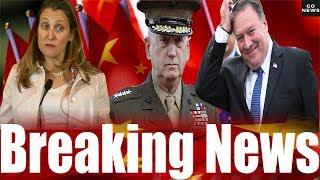 BREAKING: CANADA and U.S. Slams CHINA