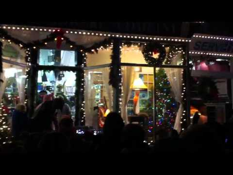 Northport Village Hardware Lights Up