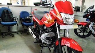 Bajaj Platina 100 ES Electric StartUnveiled In India