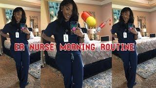ER NURSE AM ROUTINE  || CARLERAE