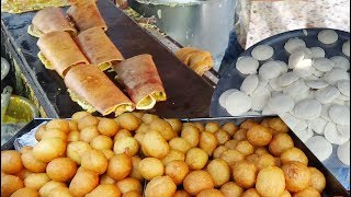 Over Thousands of People Eating Crazy Breakfast Everyday | Price @20 rs Per Plate | IndianStreetFood