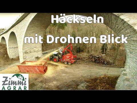 Fendt 936 Vario mit Eschlböck Biber 84 Hacken im Klostertal