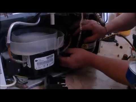 Замена компрессора на холодильнике в домашних условиях