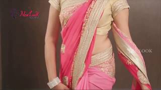How To Drape A Butterfly Saree Style? | Saree Videos | New Look | How To Wear A Saree? | 2017 Styles