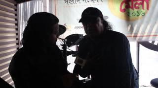 Ayub Bacchu & RJ Saimur Live@SangeetMela 2016 Press Conf - Swadesh.tv