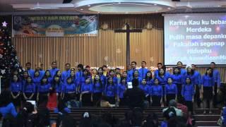 Opening & Bangkit dan Bersinar - Oxygen True Worshippers Youth GPdi leshaddai