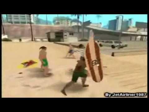 Loquendo Un Dia En La Playa GTA San Andreas